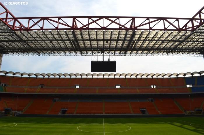 San Siro stadium in peace