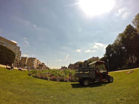 Brussels - Cinquantenaire park